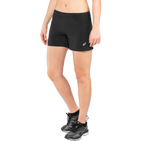 "asics Silver 4"" Shortsit Naiset, performance black"